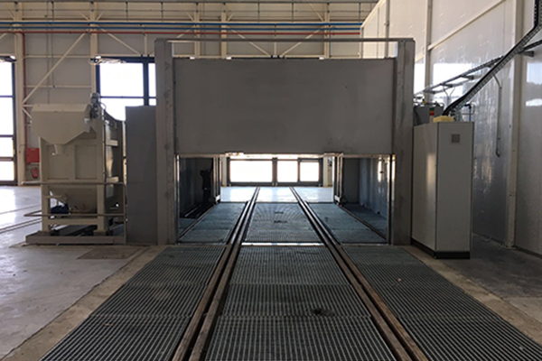 Bogie Wash Cleaning Plant
