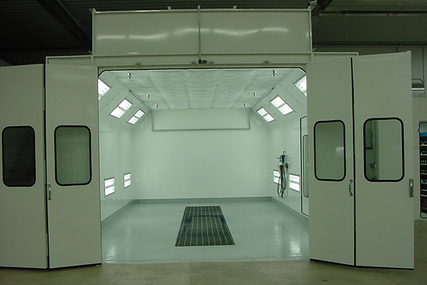 Painting Booth for Separate Parts