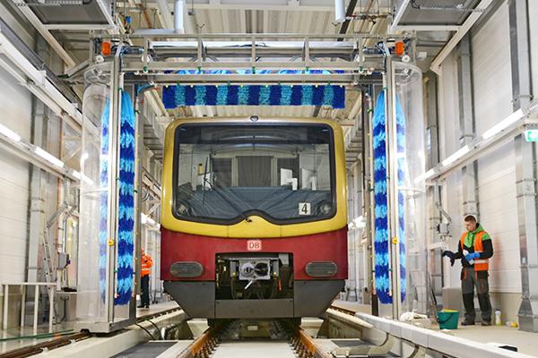 train wash plant